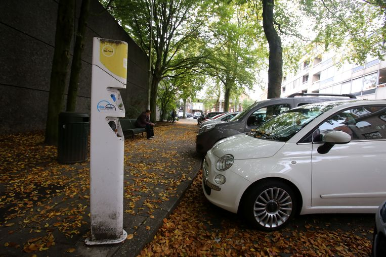 Brugge laadpaal voor auto's