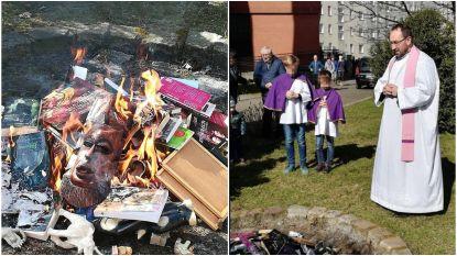 Poolse priesters verbranden Harry Potter-boeken