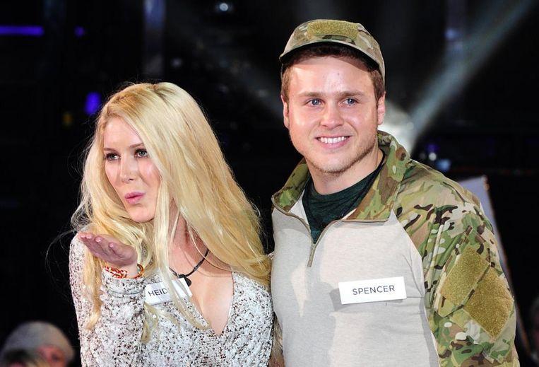 Realitykoppel Heidi Montag en Spencer Pratt.