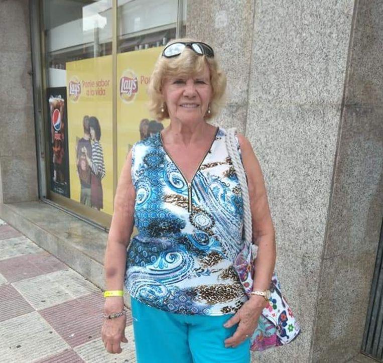 Hermina Aubroeck hield van reisjes naar het zonnige Zuiden.
