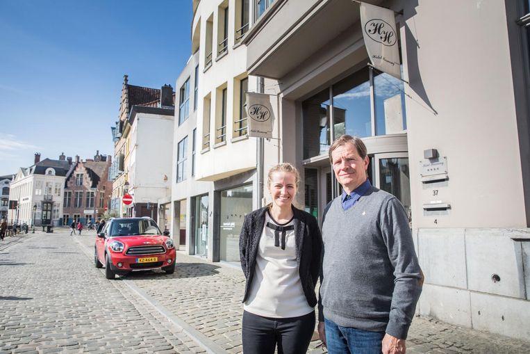 Guido De Smet van Hotel Harmony hoopt dat zijn gasten geen nare herinneringen aan Gent overhouden.