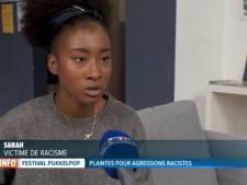 """Sarah, victime de racisme à Pukkelpop: """"C'était juste horrible"""""""