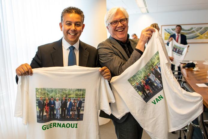 Bert van Alphen en Rachid Guernaoui