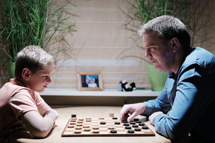 Bert Woolschot (rechts) kwam namens DUO niet tot winst. Foto Jan van den Brink