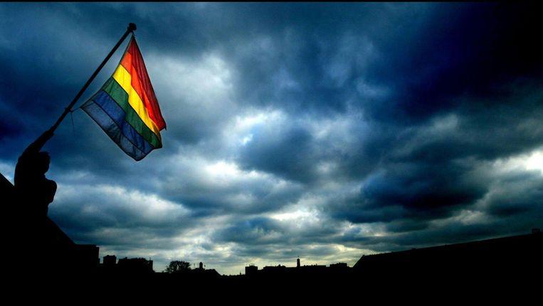 Volgens de rechtbank loopt de jongen gevaar in Irak als hij homoseksueel is Beeld anp