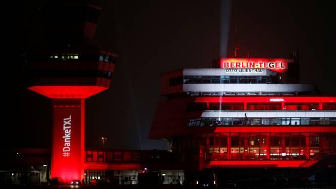 Laatste vlucht vertrekt van Berlijnse luchthaven Tegel