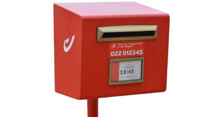 Bpost haalt vier rode brievenbussen weg