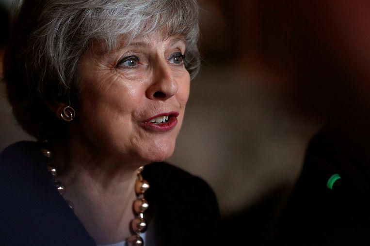 Britse premier Theresa May.
