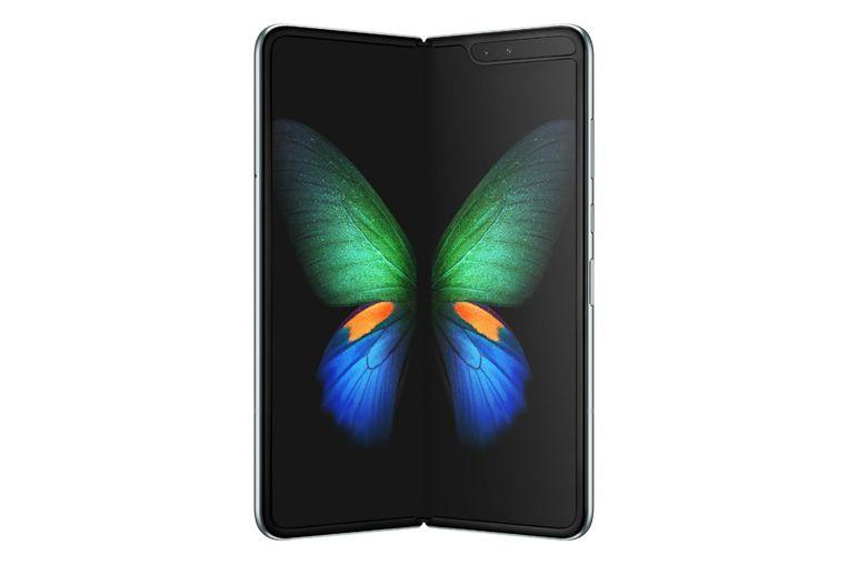 Galaxy Fold in opengevouwen toestand. Beeld Samsung