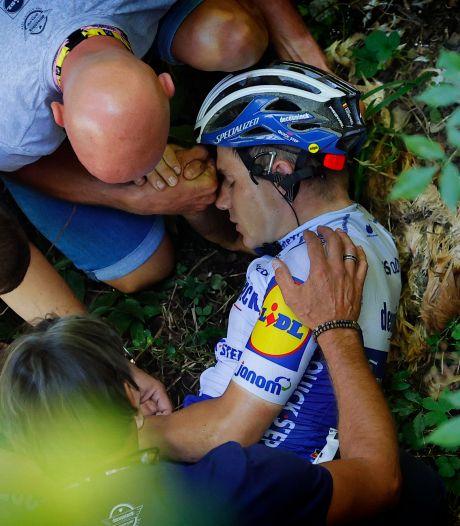"""L'UCI enquête sur la chute d'Evenepoel au Tour de Lombardie: """"Qu'est-ce qui a pu être sorti de sa poche?"""""""