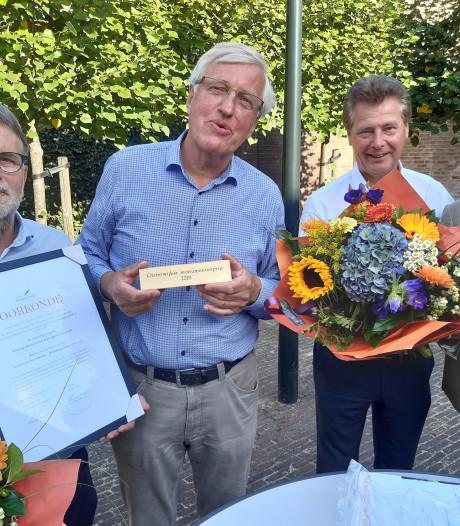 Oisterwijkse monumentenprijs voor Joodse begraafplaats
