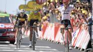 Degenkolb verschalkt Van Avermaet en Lampaert in kasseirit naar Roubaix, Uran grote verliezer