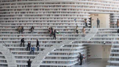Een must-see voor boekenwormen: de Tianjin Binhai-bibliotheek in China