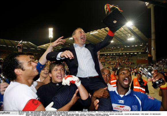 Pierre Denier was in 2009 hoofdcoach toen Genk de beker won