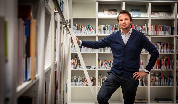 D66-raadslid Robin Verleisdonk in Eindhoven.