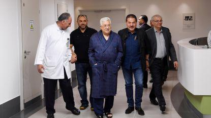Palestijnse president Abbas met longontsteking in het ziekenhuis