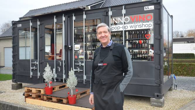 Wijnhandelaar die normaal aan restaurants levert, heeft nu succesvolle pop-up wijnshop naast zijn huis