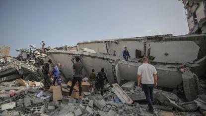Twee lichamen gevonden onder puin in Gaza na Israëlische bombardementen