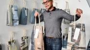 Steigerdoeken Grote Markt getransformeerd in modieuze tassen