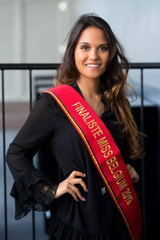 Shana Vanfreachem staat in de finale van Miss Belgium 2019