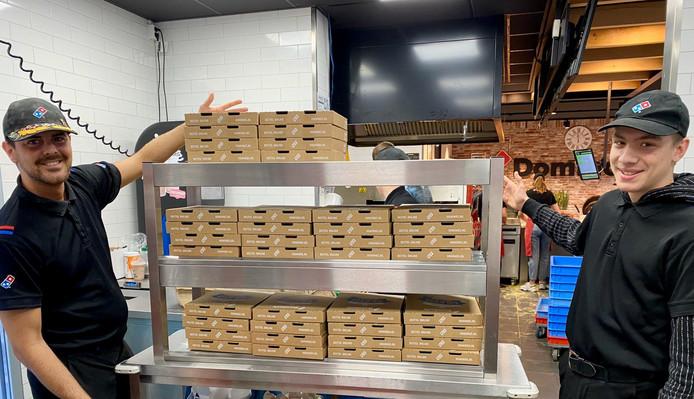 Pizza voor zorgpersoneel in Land van Cuijk