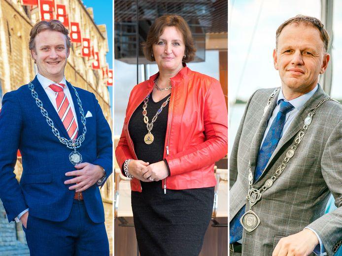 Hoe denken burgemeesters Pieter Verhoeve,  Liesbeth Spies en Christiaan van der Kamp over het instellen van een avondklok?