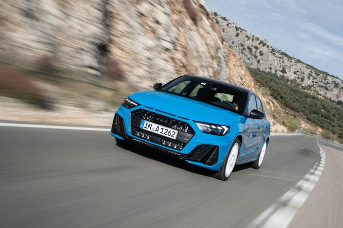 De nieuwe Audi A1 oogt wat agressiever dan z'n voorganger.