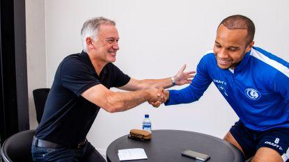 """Marc Degryse interviewt Odjidja: """"Je doet me denken aan Ruud Gullit"""", Vadis: """"Alleen aan de interviewtafel dan"""""""