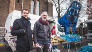 Blauw paard van Pastory groeit uit tot buurtmascotte in Dampoortwijk