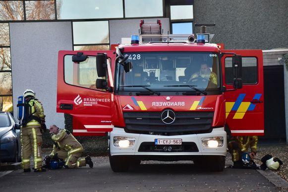 De brandweer hoefde maar beperkt tussen te komen voor het brandje bij Sanac in Wervik.