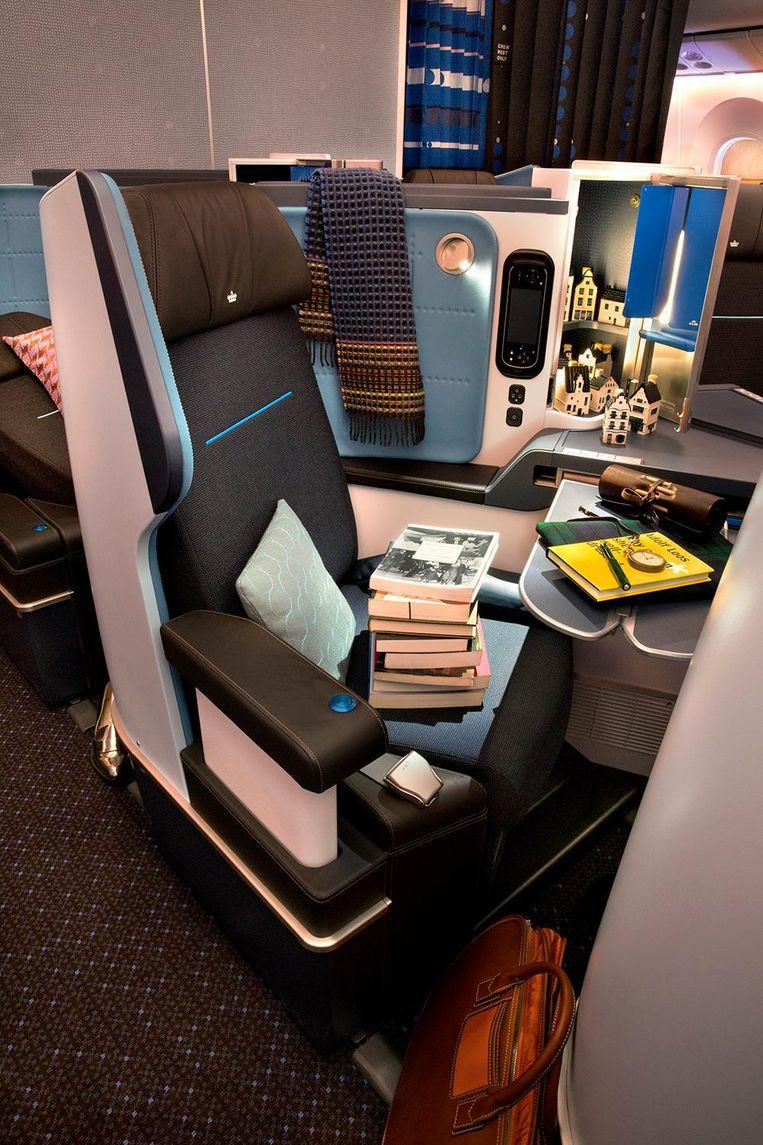 KLM Business Class (2013). Beeld