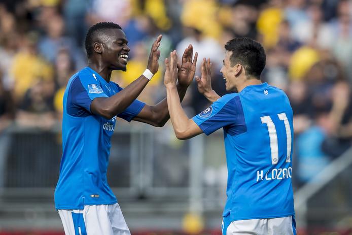 PSV moet eventuele winst op Hirving Lozano voor een behoordelijk deel aan zijn vorige club afstaan.