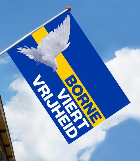 Deel opbrengst Bornse vrijheidsvlaggen naar lokale 'zorghelden'