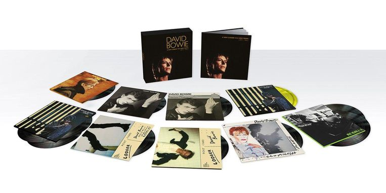 David Bowie, A New Career In A New Town (1977-1982). 11 cd's. RCA/Warner. euro 144,99. Beeld null