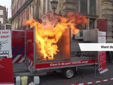 Brandweer waarschuwt voor 'vlam in de pan'