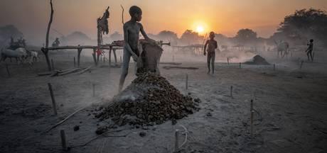 Utrechter Johan reisde naar Zuid-Soedan, maakte een foto van koeienstront en won er een prijs mee