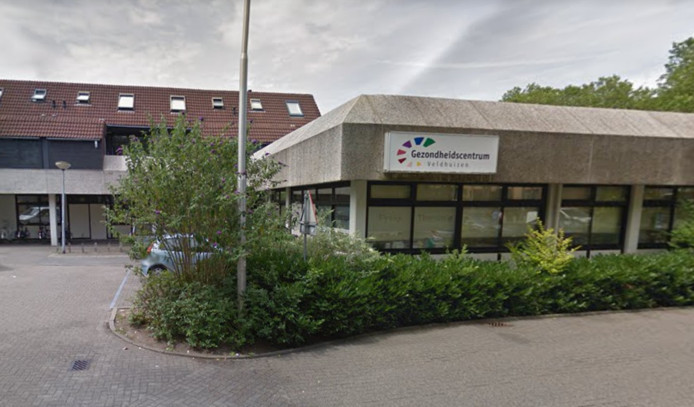 Het huidige gezondheidscentrum Veldhuizen bij winkelcentrum Bellestein.