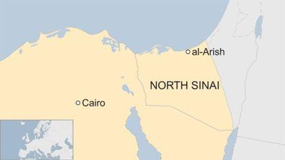 Zeker 25 doden en 80 gewonden bij aanslag op moskee Egypte