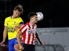Cambuur met tien man te sterk voor Jong PSV