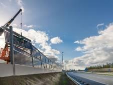 'Groen geluidsscherm' langs A50 Uden gaat als een zonnetje: twintig procent meer stroom dan verwacht