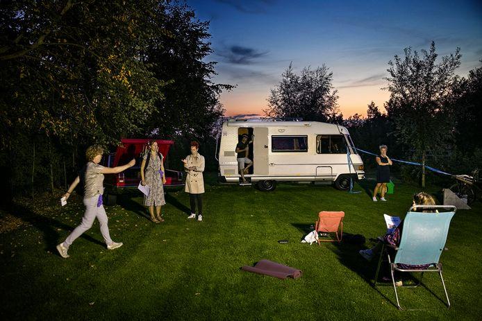 Jeugdtheater Carrousel gaat een voorstelling spelen op dorpscamping De Pandelaar.