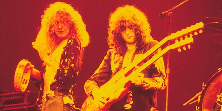 Robert Plant en Jimmy Page van Led Zeppelin. Elke muziekliefhebber koestert deze band, maar tegelijk hadden ze er een handje van weg om andermans werk te rippen.