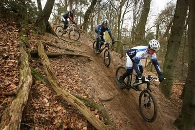 Mountainbike-tracks Oosterhout tijdelijk dicht door droogte