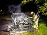 Tweede autobrand in vier dagen tijd, politie Epe houdt wederom rekening met brandstichting