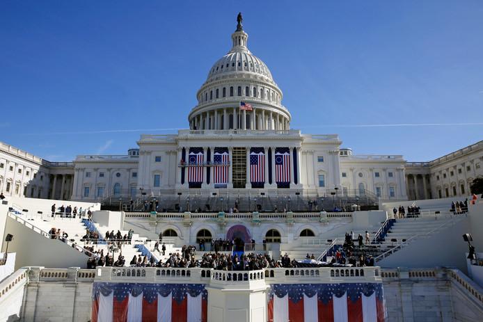 Washington maakt zich op voor de inauguratie van komende vrijdag