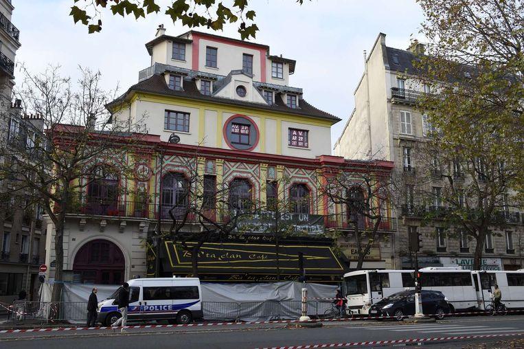 Concertzaal le Bataclan in Parijs Beeld afp