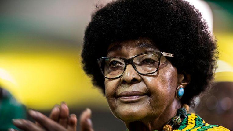 Winnie Mandela is op 81-jarige leeftijd overleden Beeld ANP