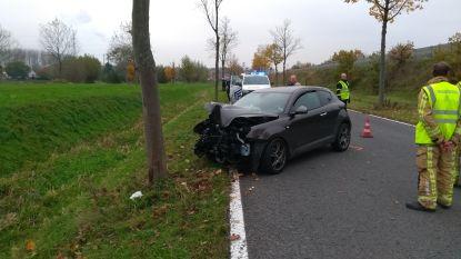 Meisje (18) gewond na botsing tegen boom. Ze had pas haar rijbewijs
