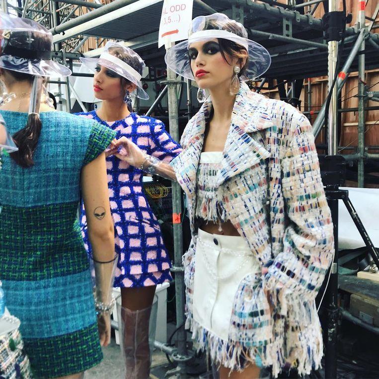 Kaia Gerber voor Chanel