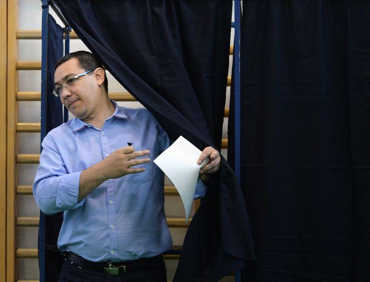 De Roemeense premier Victor Ponta. Beeld afp